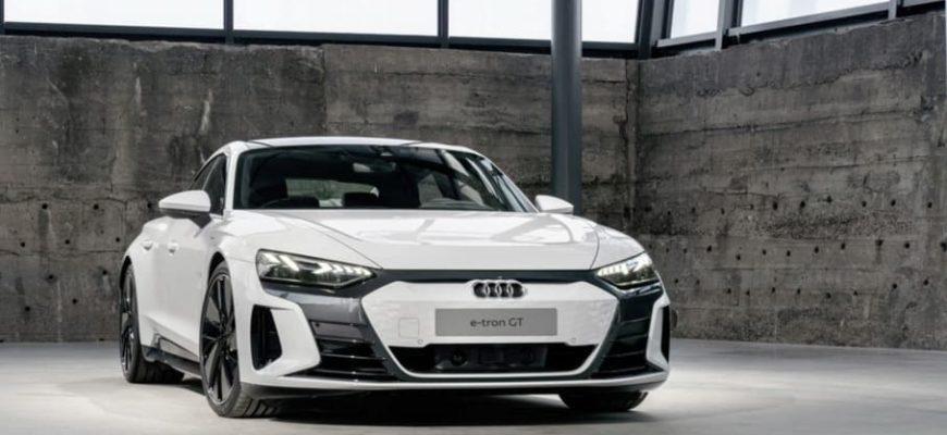 фото Audi E-Tron GT 2022
