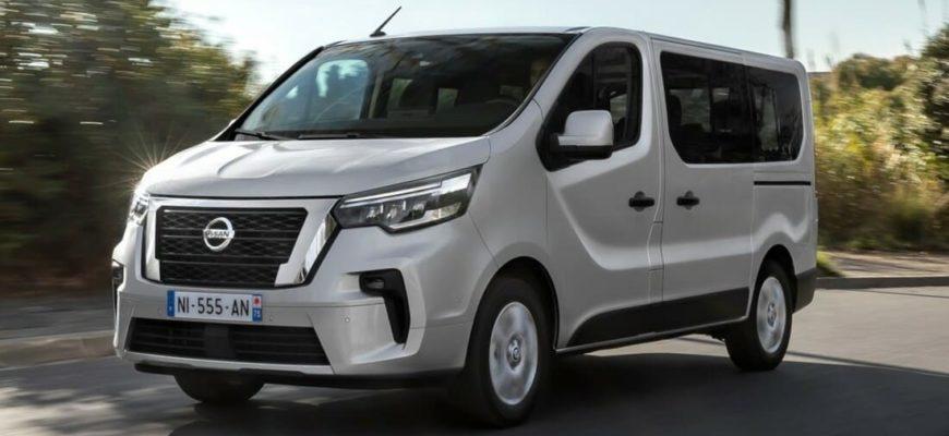 фото Nissan NV300 Combi 2022 года