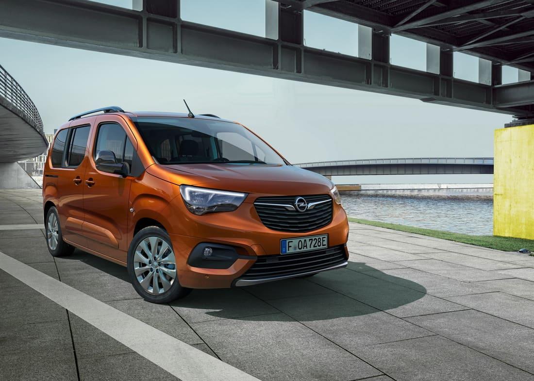 фото Opel Combo-e Life 2022 в России