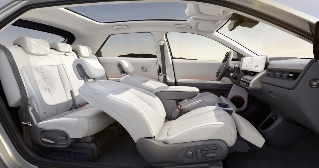 интерьер Hyundai Ioniq 5 2022