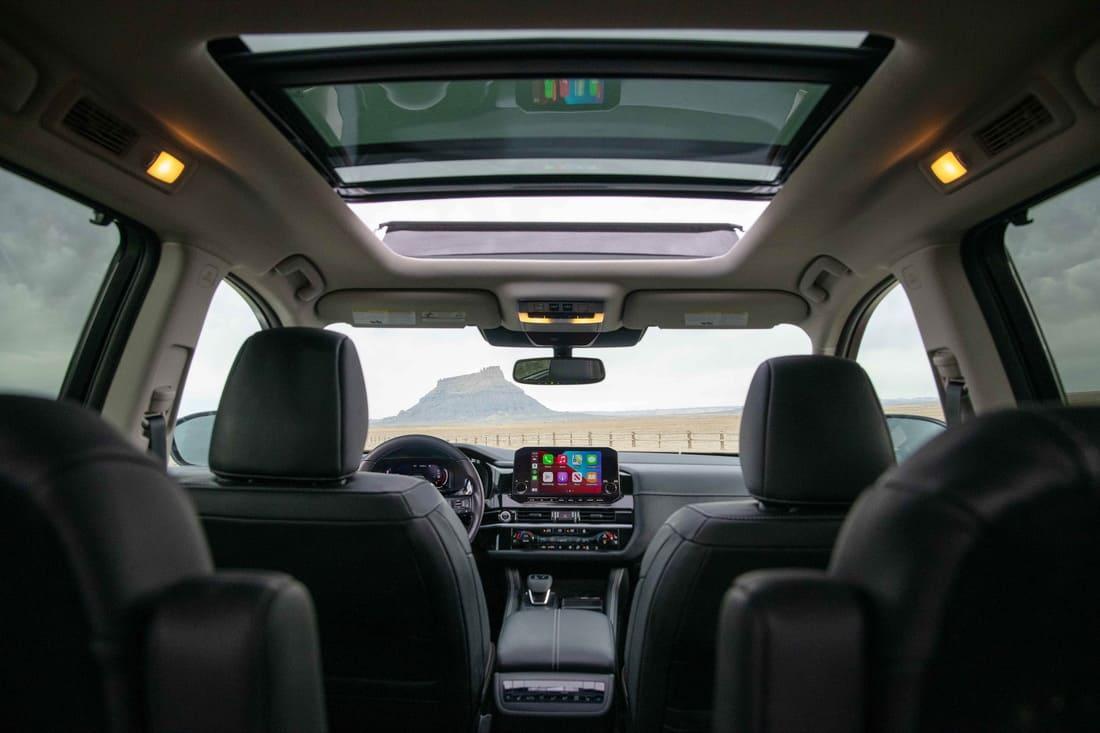 интерьер Nissan Pathfinder 2022