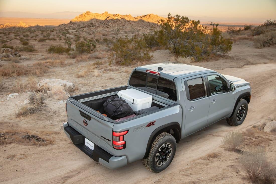 кузов Nissan Frontier 2022