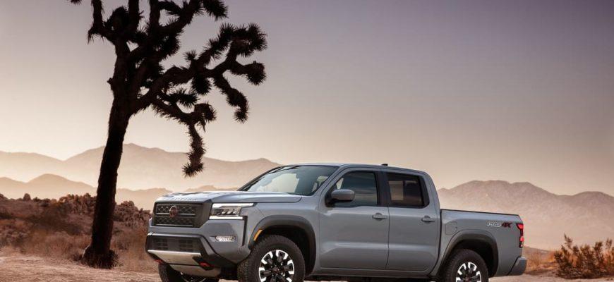 новый Nissan Frontier 2022 фото