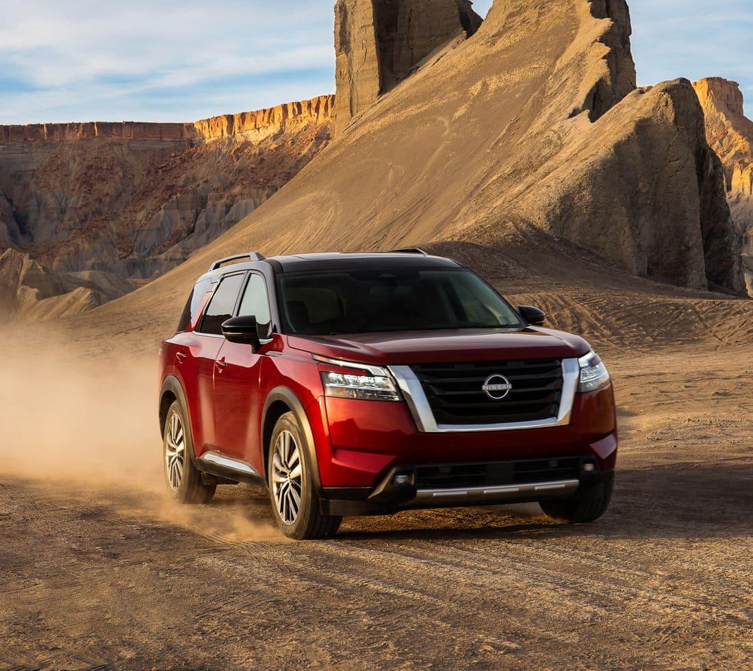 новый Nissan Pathfinder 2022 фото