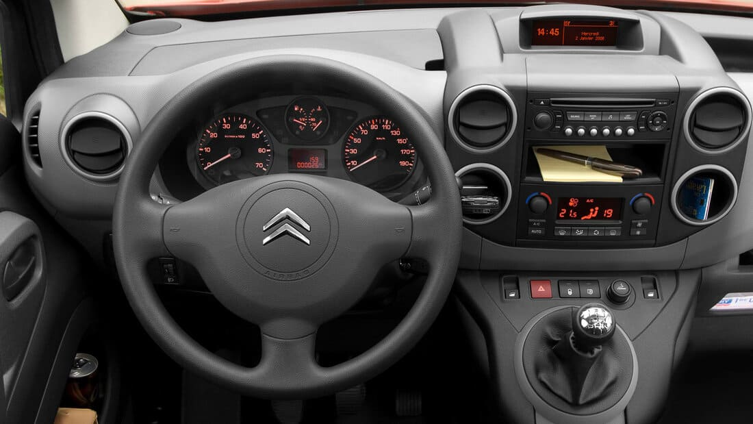 салон Citroen Berlingo 2021 российской сборки