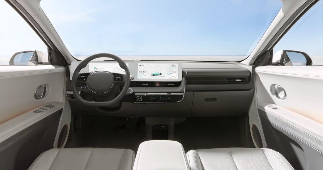 салон Hyundai Ioniq 5 2022 фото
