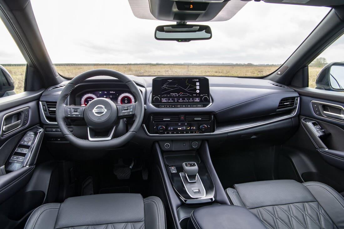 салон Nissan Qashqai 2022