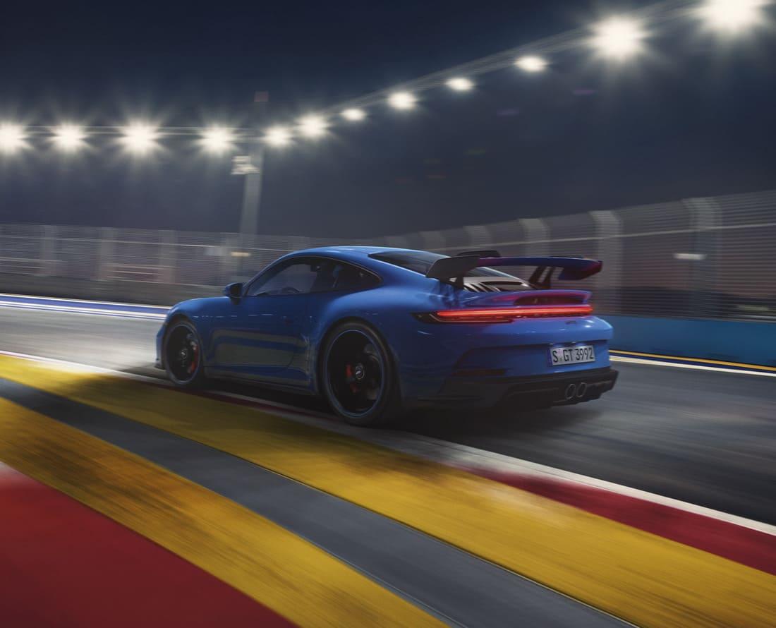 спойлер Porsche 911 GT3 2022