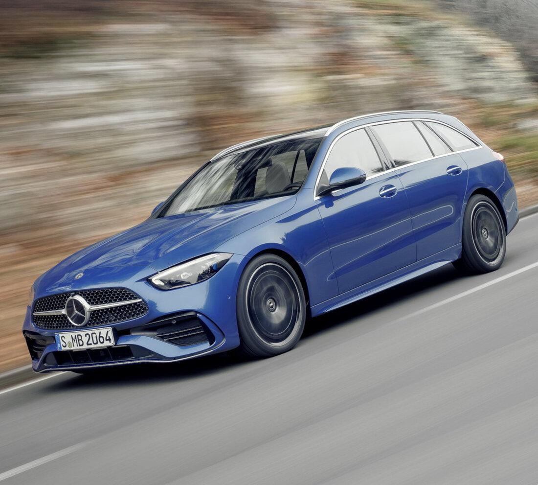 универсал Mercedes C-Class W206 2022 года