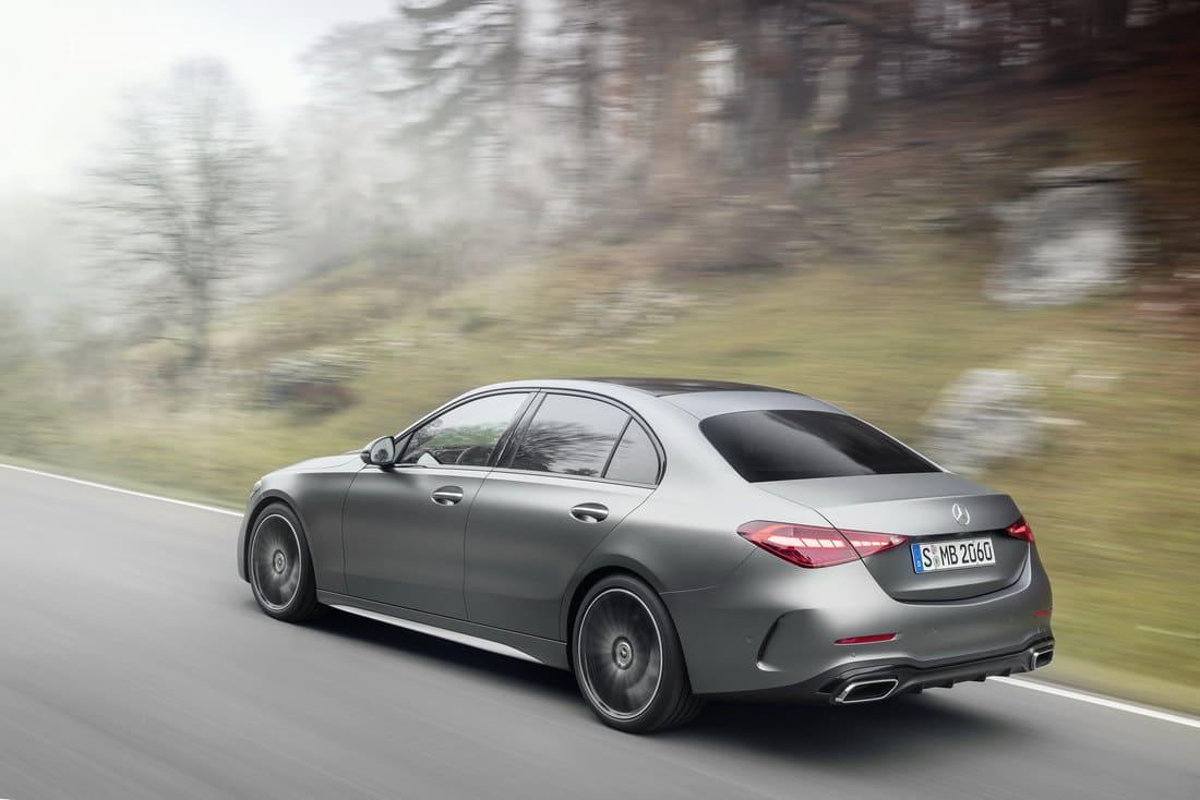 задние фонари Mercedes C-Class W206 2022