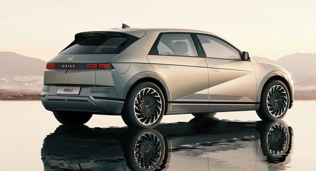 задняя часть Hyundai Ioniq 5 2022