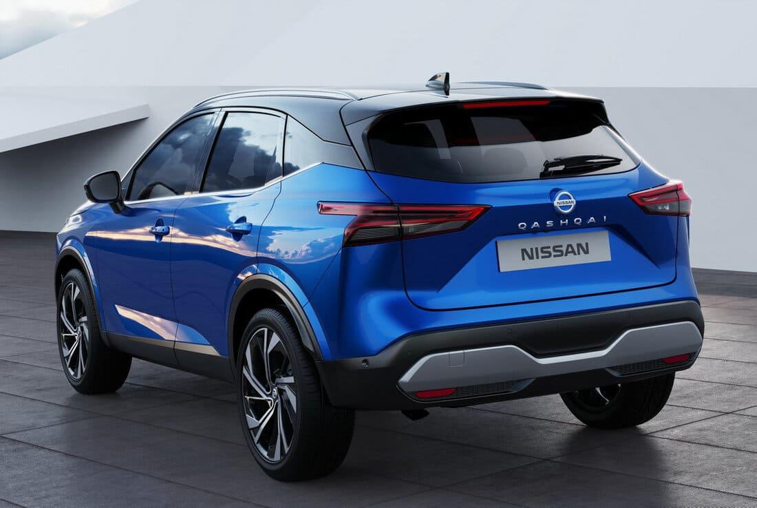 задняя часть Nissan Qashqai 2022