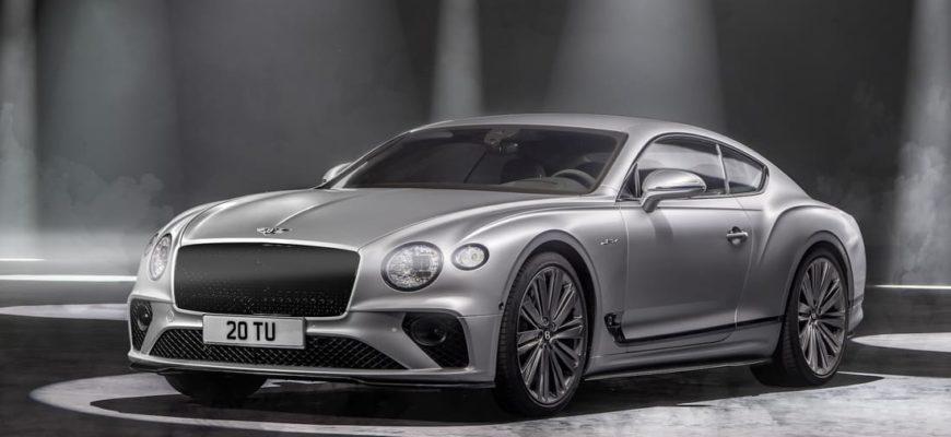 Bentley Continental GT Speed 2022 фото