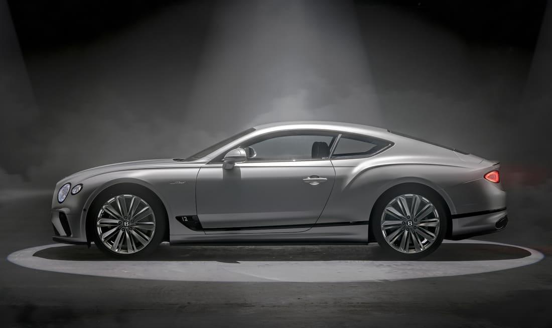 Bentley Continental GT Speed 2022 сбоку