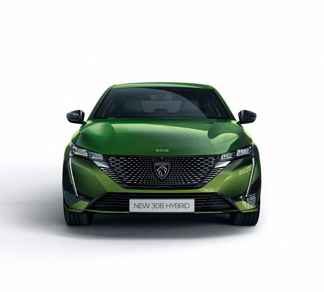 фары, решетка Peugeot 308 2021