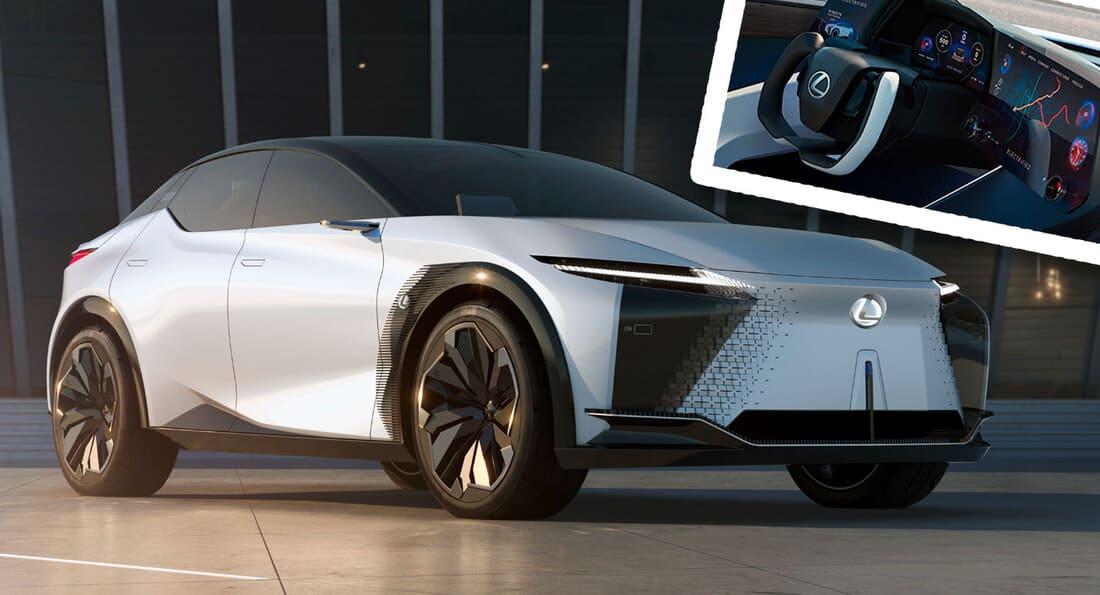 фото Lexus LF-Z Electrified