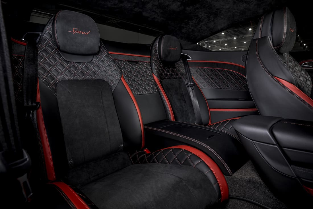 интерьер Bentley Continental GT Speed 2022