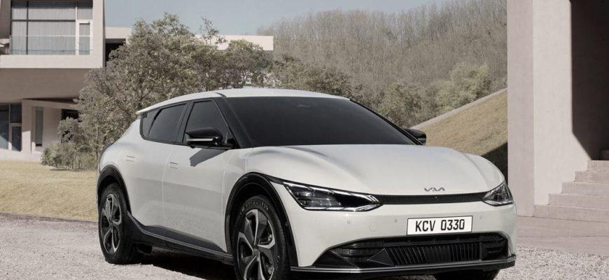 Kia EV6 фото
