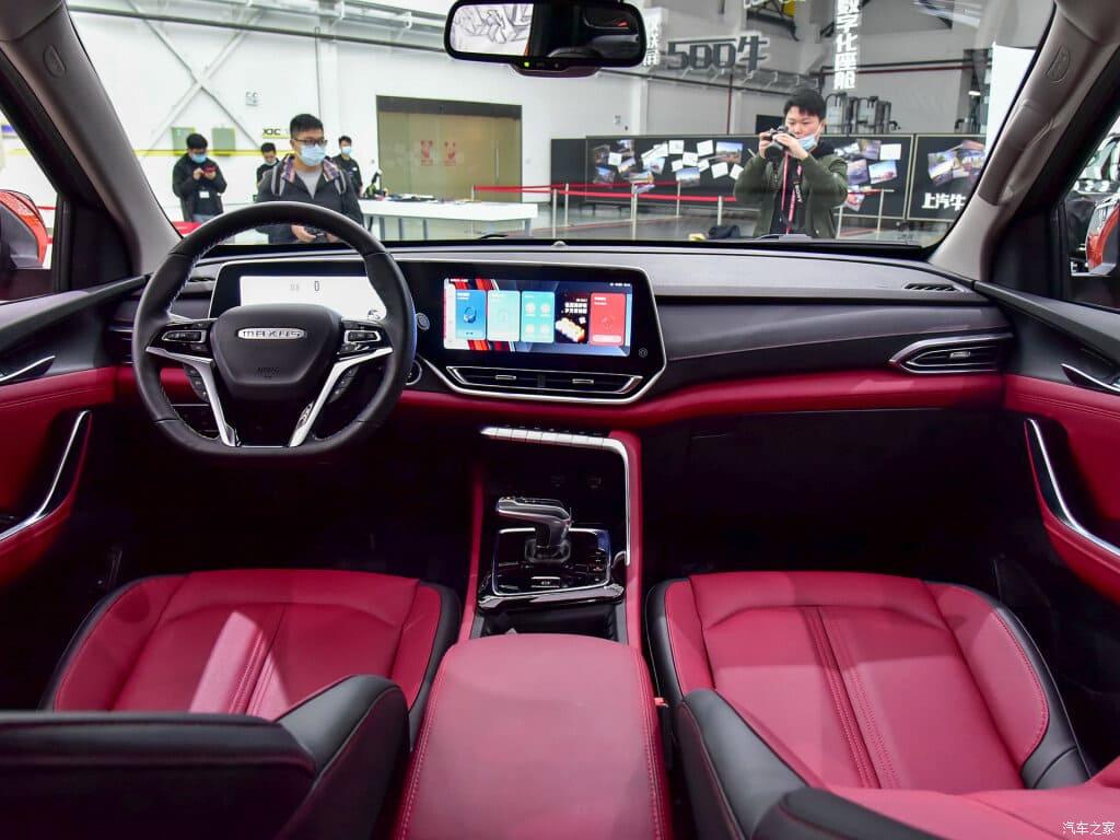 Новый пикап Maxus T90 салон