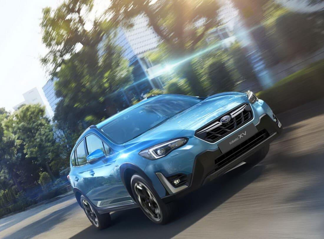Новый Subaru XV 2021 рестайлинг в России