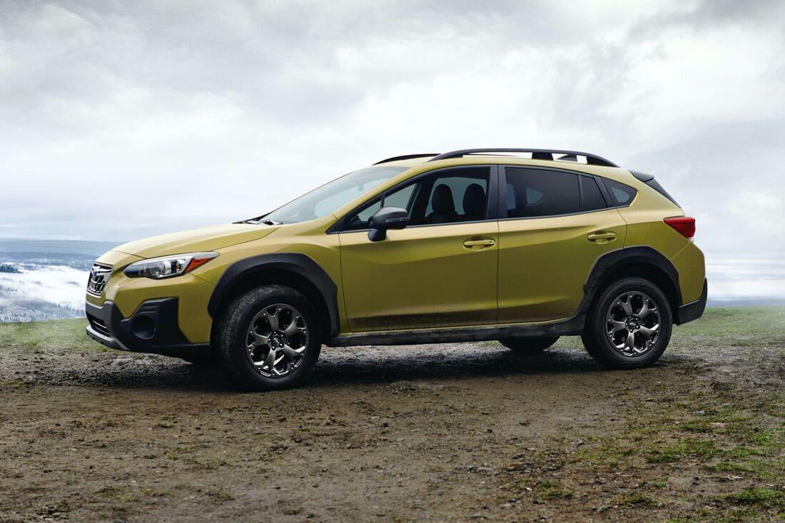 Subaru XV 2021 сбоку