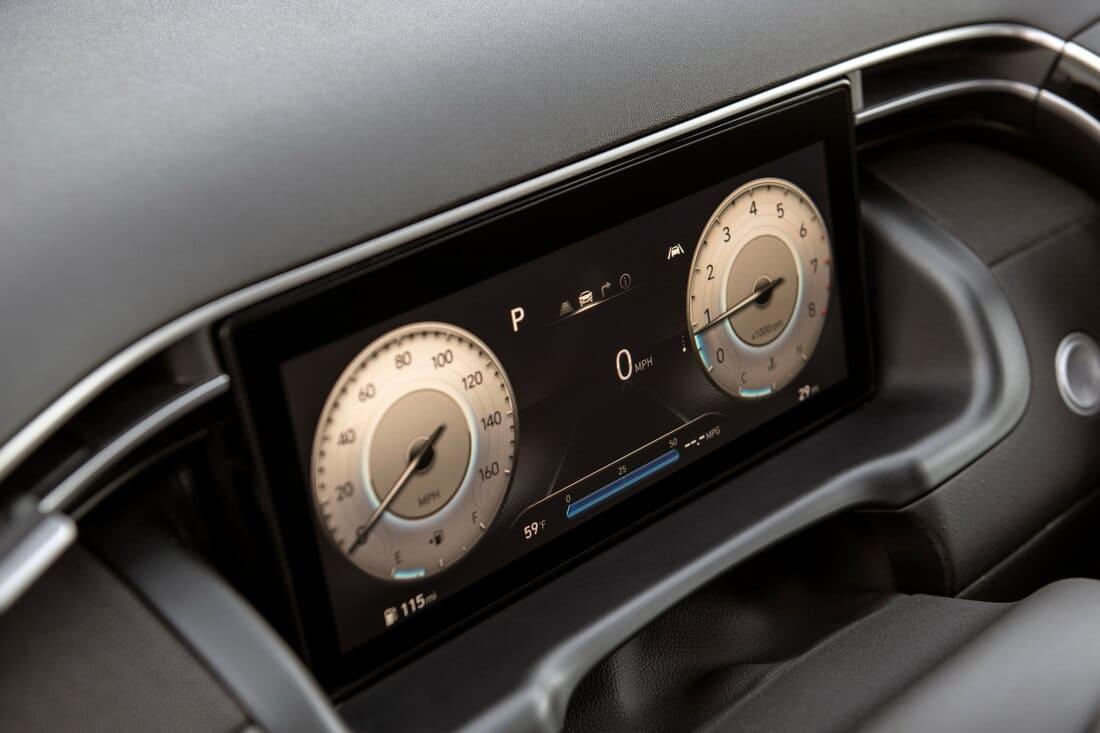 цифровая приборка Hyundai Santa Cruz 2022