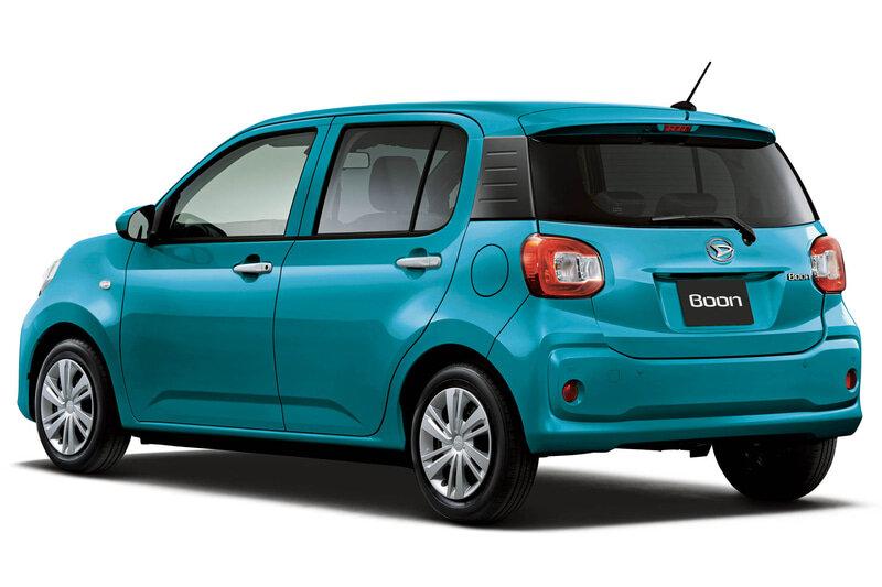 Daihatsu Boon 2021 - 2022 задняя часть