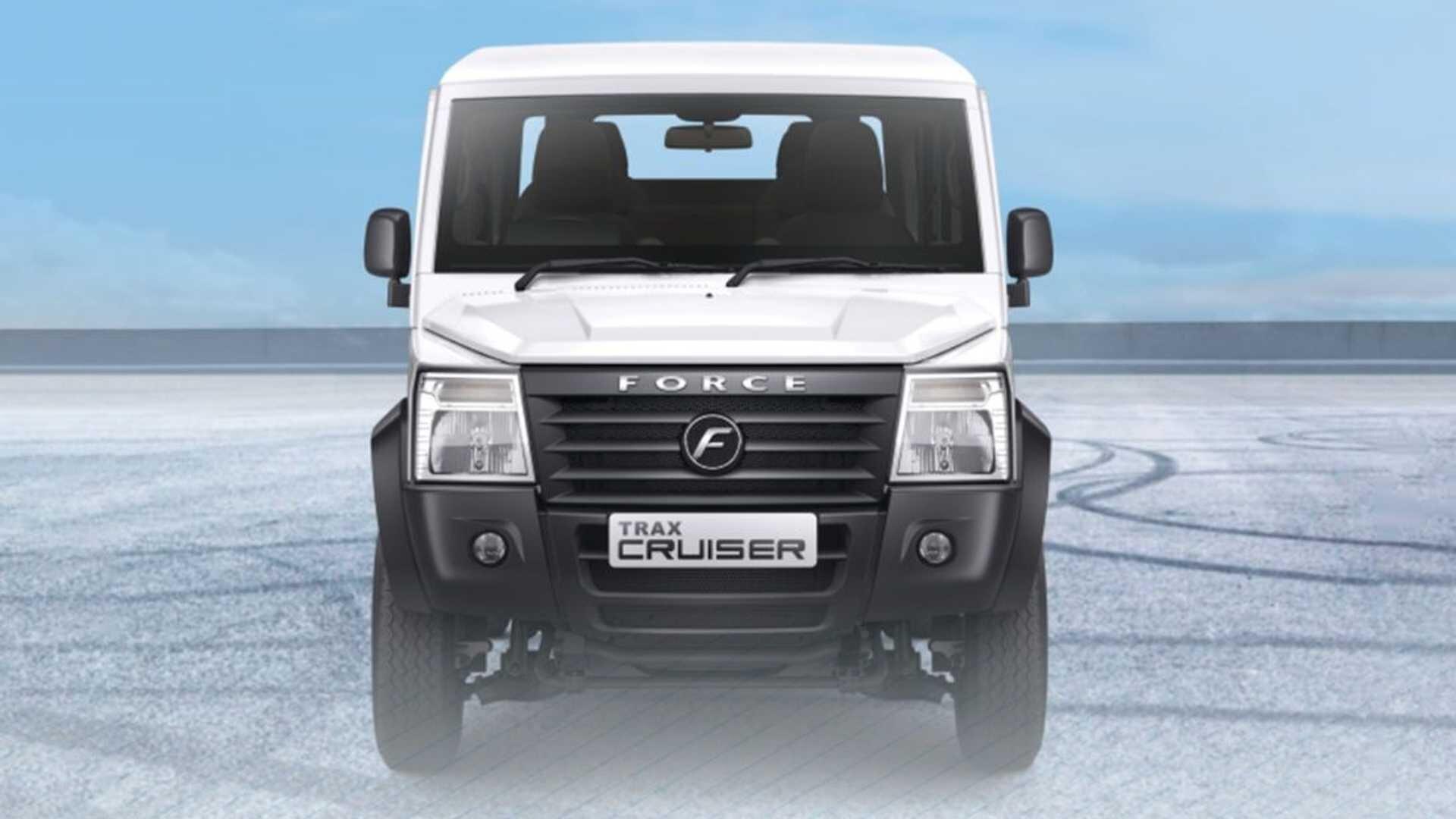 фары, решетка Force Motors Trax Cruiser 2022