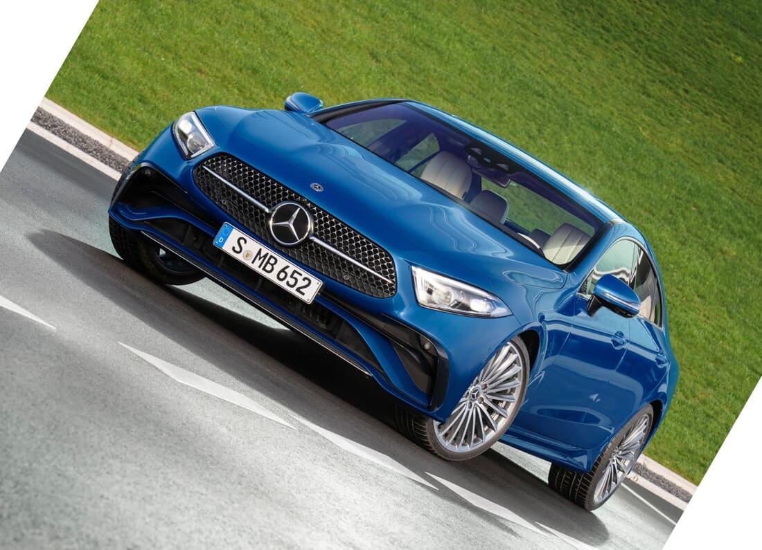 фары, решетка Mercedes CLS 2022