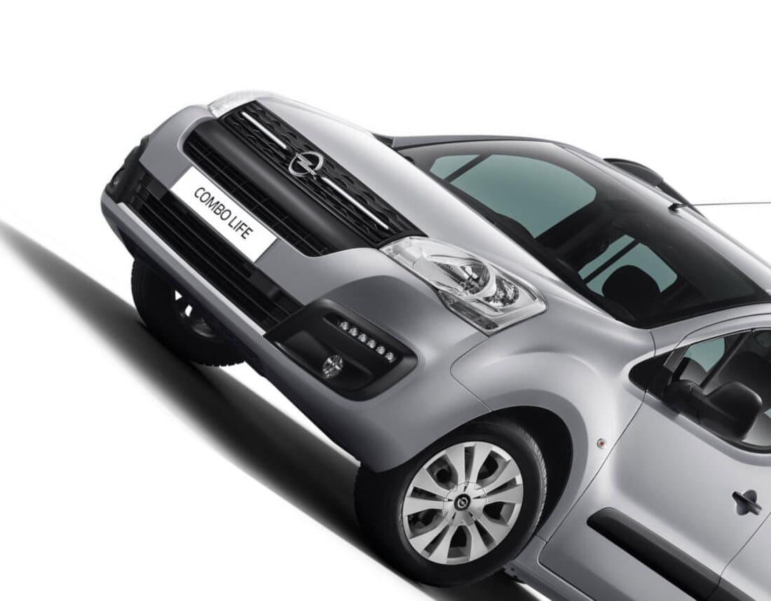 фары, решетка Opel Combo Life 2021