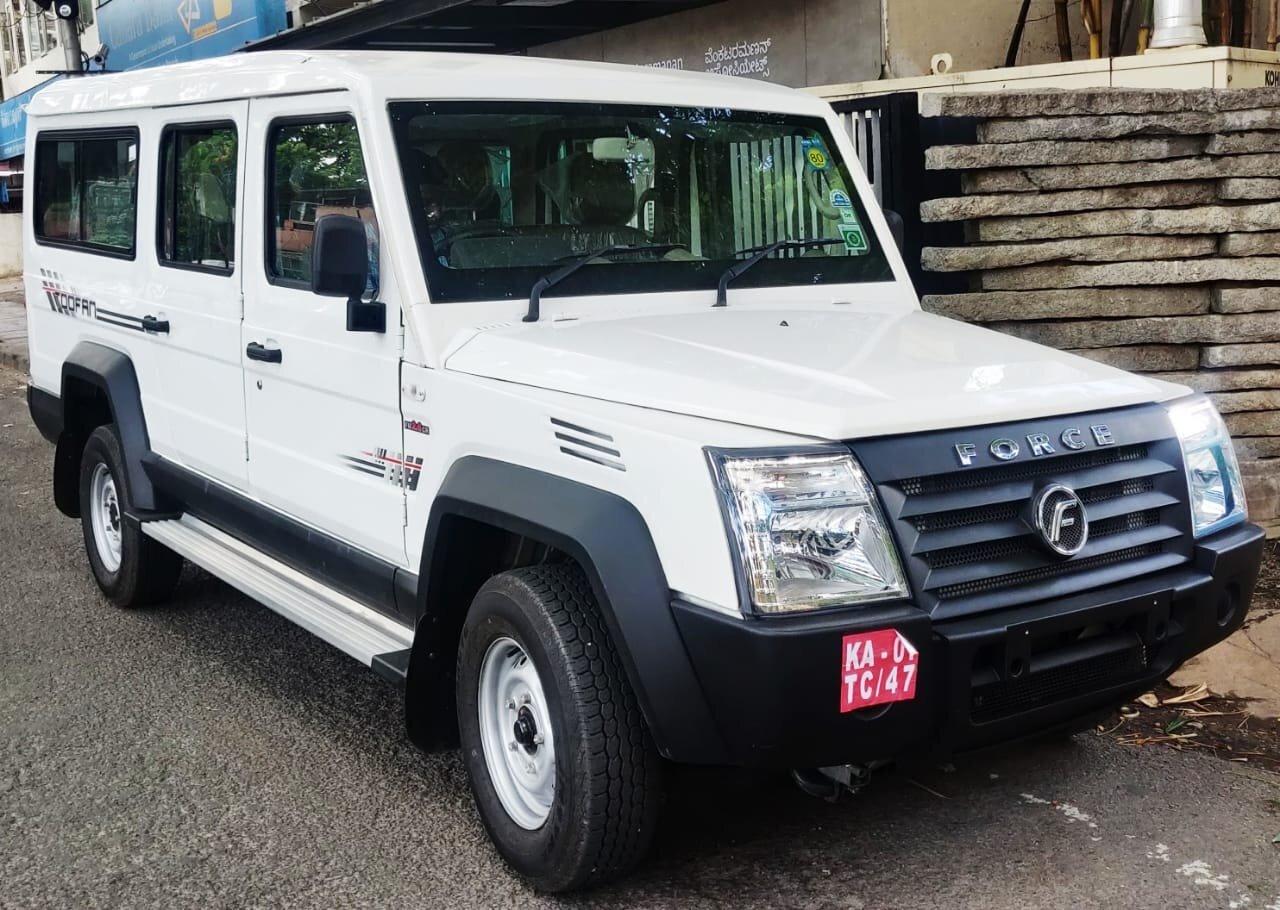 Force Motors Trax Cruiser 2022 - Гелендваген для бедных