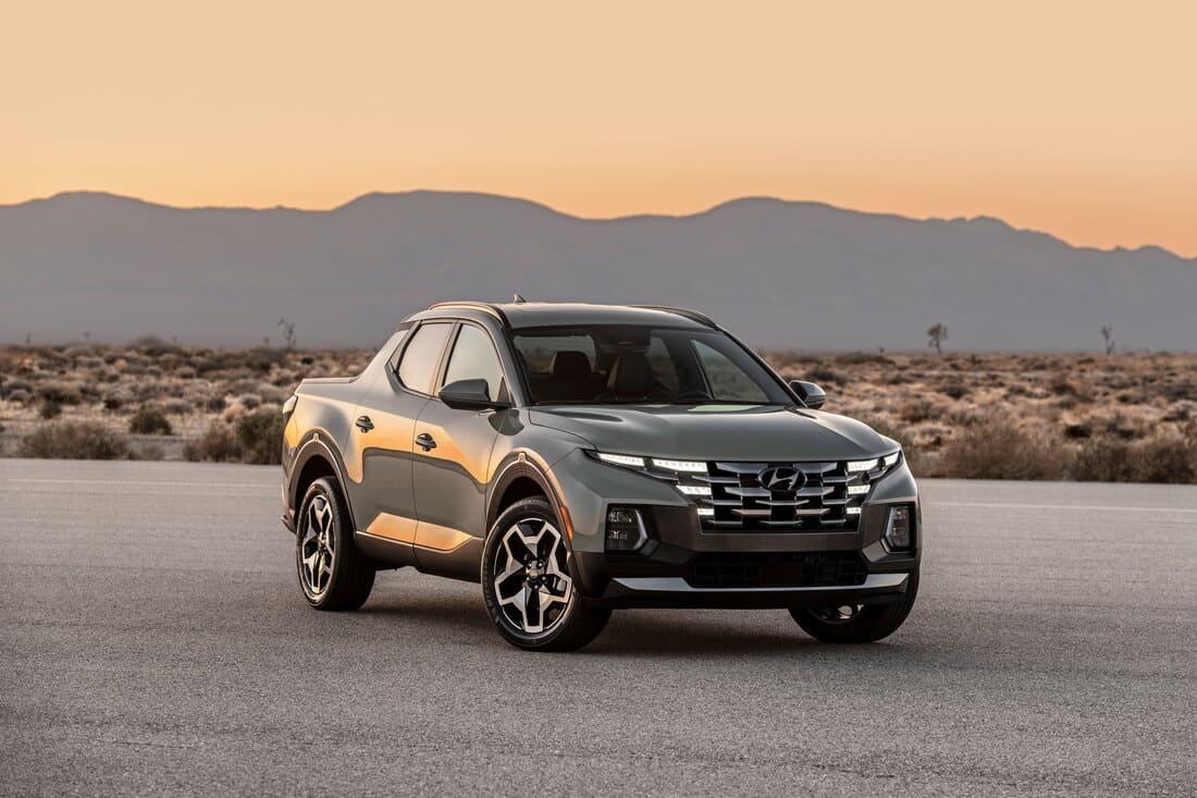 фото Hyundai Santa Cruz 2022 года