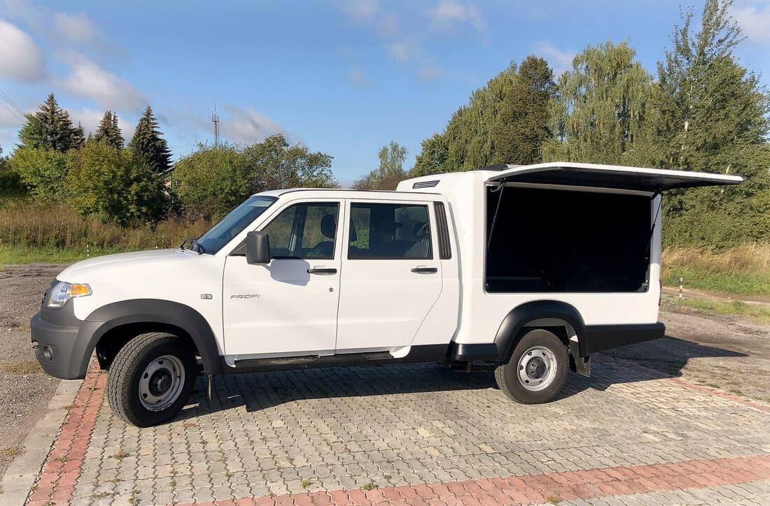 фургон УАЗ Профи 2021 багажник