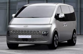Hyundai Staria фото в России
