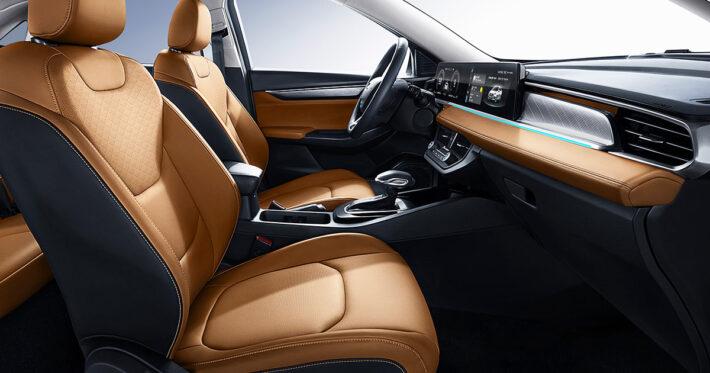интерьер Ford Escort 2022