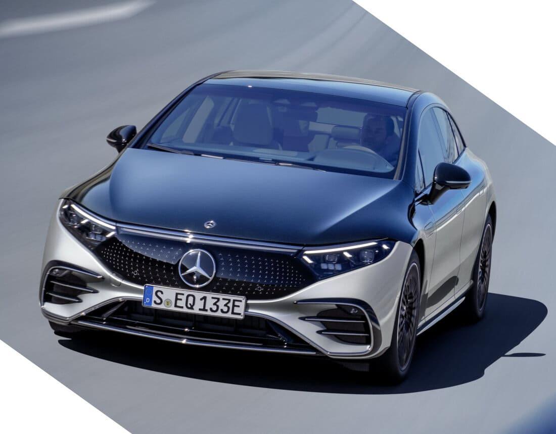 Mercedes-Benz EQS 2022 электромобиль
