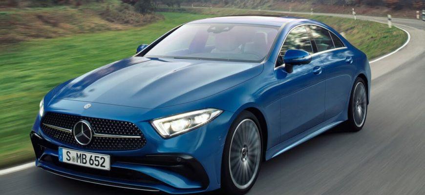 Mercedes CLS 2022 фото в России