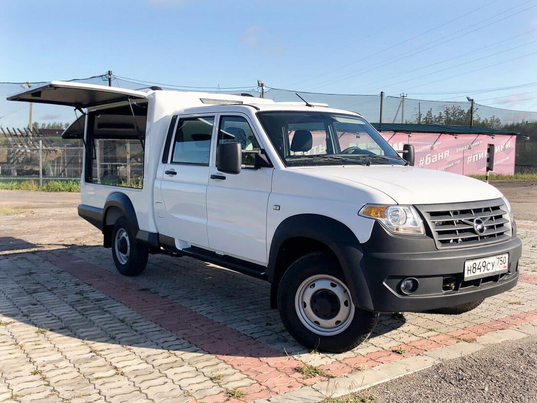 многофункциональный фургон УАЗ Профи 2021 фото