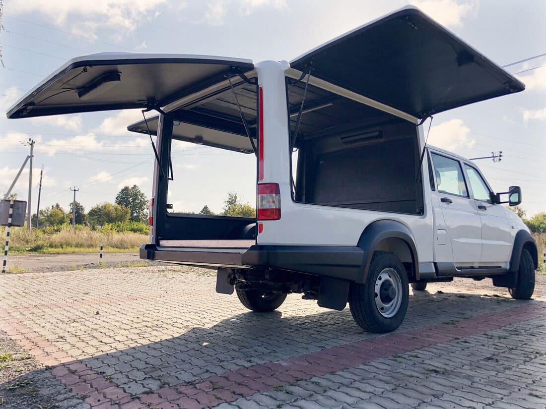 многофункциональный фургон УАЗ Профи 2021 кузов