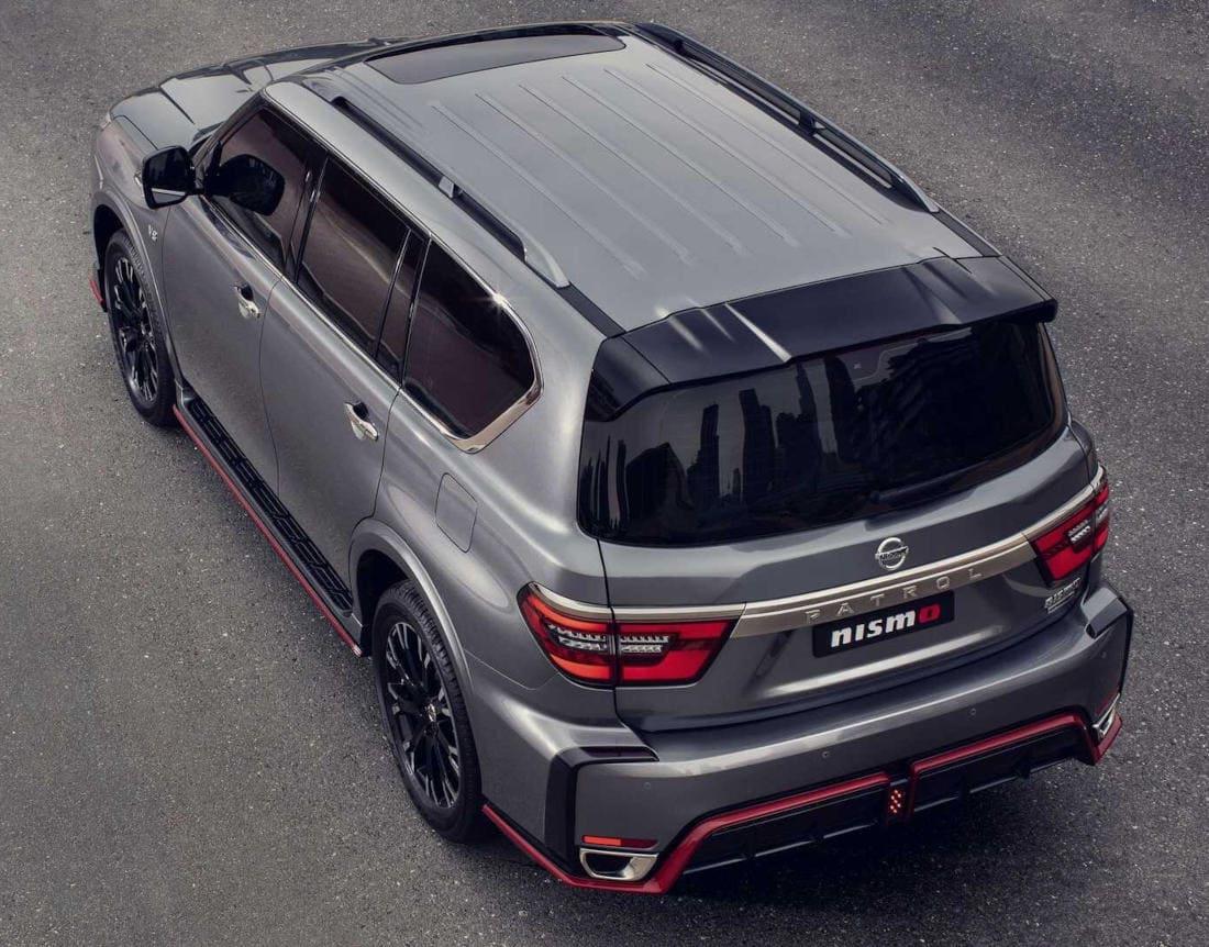 Nissan Patrol Nismo 2022 сверху