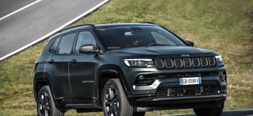Новый Jeep Compass 2021-2022