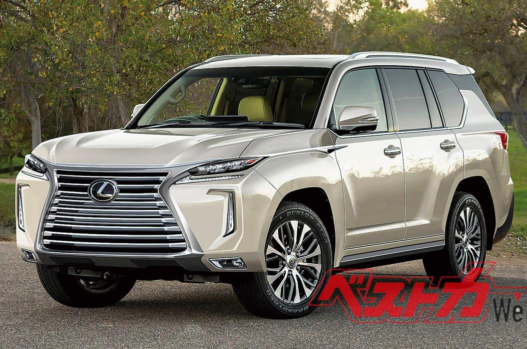 новый Lexus LX 2022