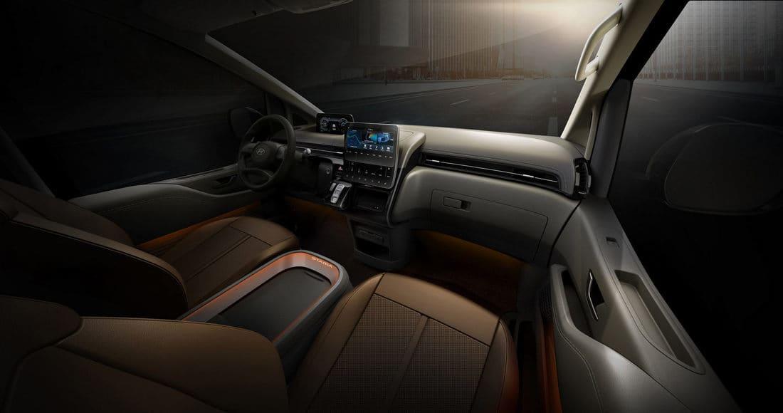 салон Hyundai Staria