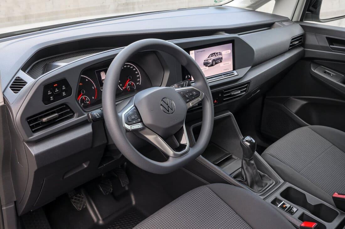 салон Volkswagen Caddy Cargo 2021