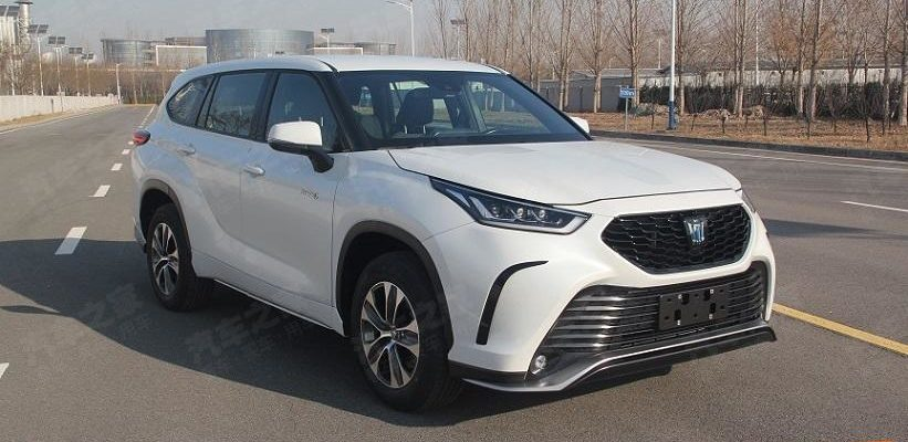 Toyota Crown Kluger 2022