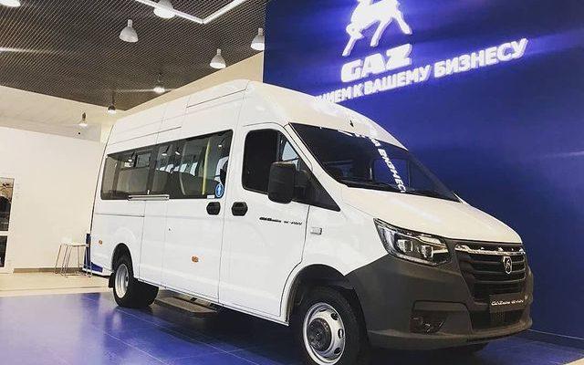 Электрический микроавтобус ГАЗель e-NN