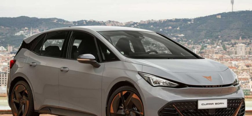 электрический SEAT Cupra Born 2022 фото