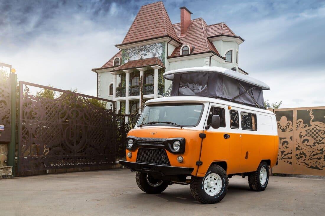 ещё фото автодома УАЗ Буханка «Байкал»