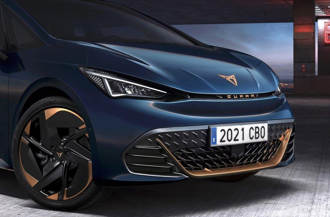 фары, решетка, бампер SEAT Cupra Born 2022 (фото, цена)