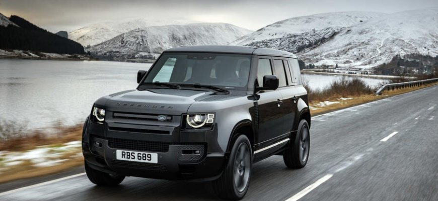 фото Land Rover Defender 110 2022 года